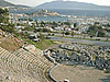 Bodrum with antique theatre